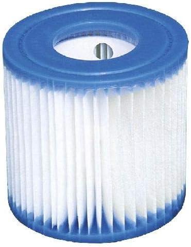 Intex, 29007, cartucho de piscina, blanco y azul, altura 10 cm, diámetro exterior 9 cm y diámetro interior 3 cm, 1 pieza
