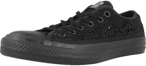 Converse Converse Chaussures Basses Chuck Taylor CT SPéCIALITé Ox en Tissu Noir et 549312C Broderie  vente discount en ligne