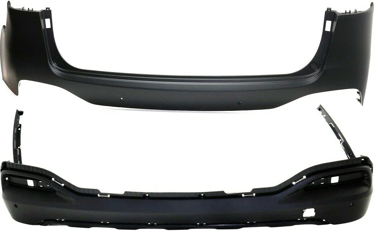 Safety and trust Set of 5% OFF 2 Bumper Covers Rear Sorento with Kia Upper Pa Compatible
