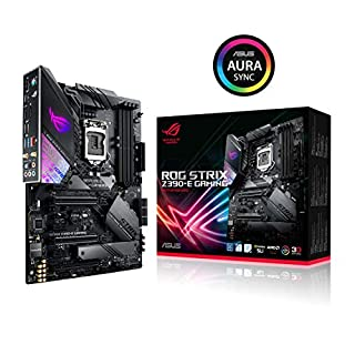 ASUS ROG Strix Z390-E Gaming Mainboard Sockel 1151 (ATX, Intel Z390, 4x DDR4-Speicher, USB 3.1, M.2 Schnittstelle) (B07HS7C63T) | Amazon price tracker / tracking, Amazon price history charts, Amazon price watches, Amazon price drop alerts
