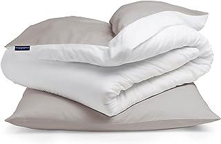 Sleepwise Bettwäsche (135x200) 2teilig, ÖKO-Tex, Kuschelig, Jersey Mikrofaser Bettwäsche, Atmungsaktiv Faltenfrei Pflegele...
