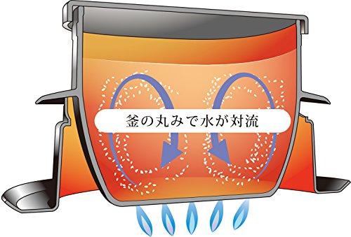 ウルシヤマ謹製釜炊き三昧2合炊き日本製21206
