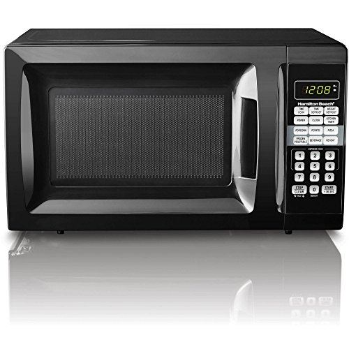 Great Deal! Child-Safe Lockout Feature | Hamilton Beach 0.7 cu ft Microwave Oven