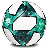 MLS Capitano Soccer Ball, Mineral/Eqt Green/Shock Mint/Shock Lime, 3