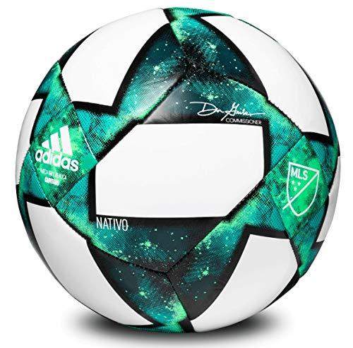 Adidas Capitano Balón de fútbol - S1906LSB804, Pelota de fútbol Capitano, 3, Mineral/Verde Eqt/Shock Mint/Shock Lime