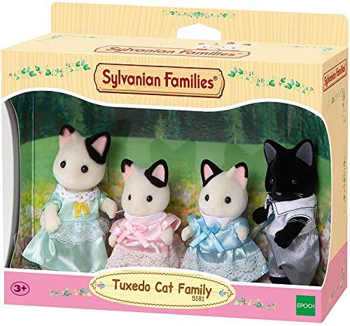 Sylvanian Families - 5181 - Famiglia Gatto Tuxedo