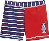 Playshoes Jungen UV-Schutz Short Taucher Badeshorts, Rot (Rot 8), 86 (Herstellergröße: 86/92)