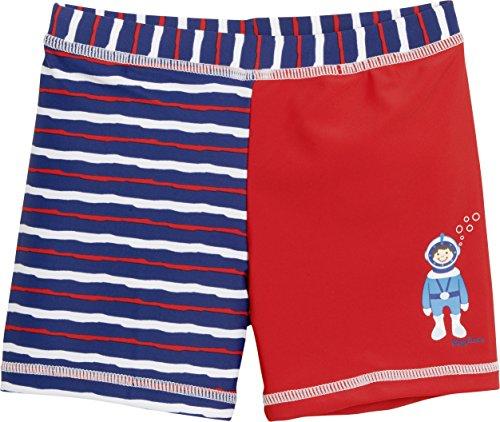 Playshoes Jungen UV-Schutz Short Taucher Badeshorts, Rot (Rot 8), 122 (Herstellergröße: 122/128)