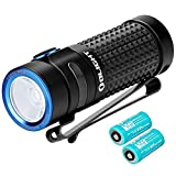 OLIGHT S1R II 1000 Lumens Compact Rechargeable EDC Flashlight with IMR16340 Battery, Upgraded Magnetic Charging Cable(2pcs Battery Pack)