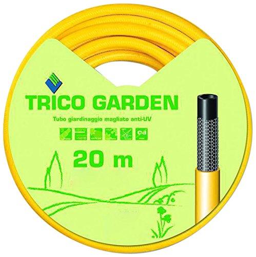 Fitt 76497-15-Trico Tuyau D'arrosage avec 20 5/8 M Jaune-Noir