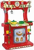 Luna Dohany Spielküche Kinderküche Küchen Set mit 21-TLG. Zubehör Rot