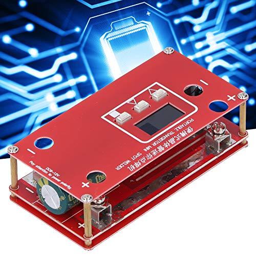 Mini soldadora por puntos, portátil ajustable por contacto automático con pantalla LCD para soldar