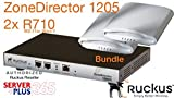 Ruckus ZoneDirector 1205 and (2) R710 Wireless Access Points Bundle
