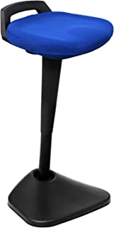 AIMEZO Active Stool Height Adjustable Standing Stool 360° Swivel Sitting Balance Chair for Home Office