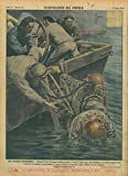 Una tragedia sottomarina. Durante i lavori di ricupero dell'incrociatore ÒTriesteÓ , nelle acque della Maddalena, uno squalo spezzo' il tubo d'aria di un palombaro provocandone la morte. L'infelice f