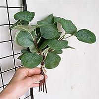 ウェディングブーケ 4ピース/バンドルレアル探しているユーカリの葉の葉の偽の植物の造られた植物は造られます 永遠の花 (Color : Green)