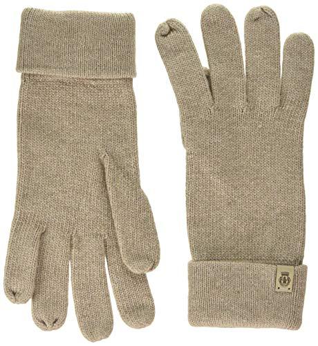 Roeckl Damen Essentials Basic Handschuhe, Braun (Cashmere 154), One Size
