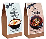 Rabbit Creek Soup Mix Variety Pack of 2 – Enchilada Con Queso and Tortilla Soup Mix