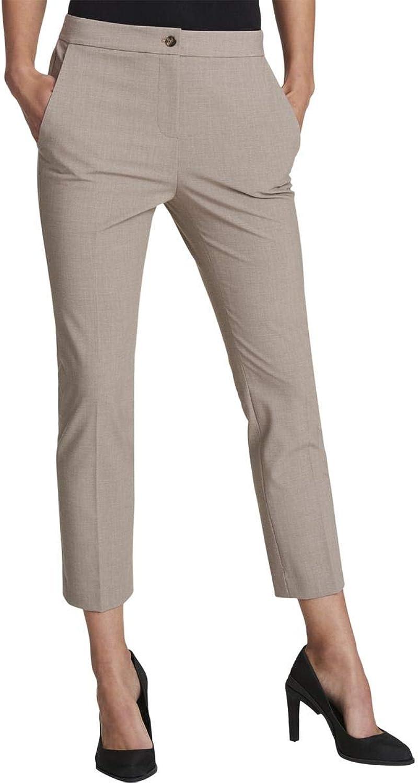 DKNY Womens Heathered MidRise Skinny Pants