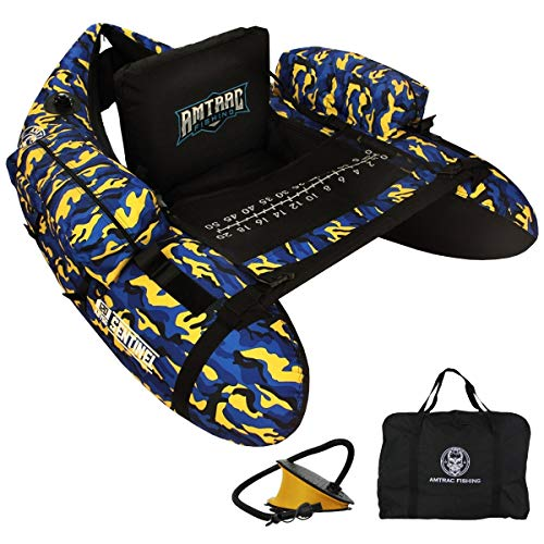 AMTRAC FISHING Float Tube Sentinel 120 - Abyss Camo