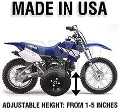 BYP_MFG_INC Adjustable Height Yamaha TTR50 TTR 50 Kids Youth Training Wheels ONLY