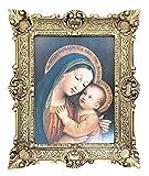 P.Sarullo BONI CONSILI ORO PRO Nobis JESUM FILIUM TUUM by P.Sarullo - Pintura religiosa María Barrock aspecto antiguo M30