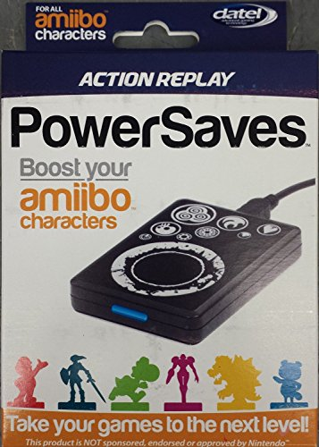 DATEL Action Replay Powersaves For Amiibo Character Boost And Cheats by Datel