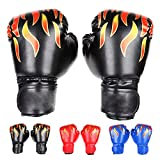 FUMEI Gant de Boxe Enfant 6oz Muay Thai Kickboxing Junior Gant Sparring Trainning Punching Bag Unisexe (3 à 10 Ans)