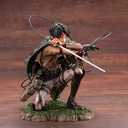 Jin Chuang Rival Ackerman Action Figures Anime Attack on Titan Figure Model Toys 16cm Levi Figurine PVC Collection Statue