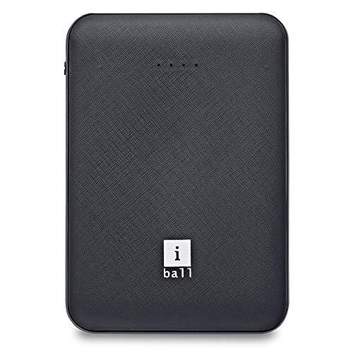iBall 5000 mAh, Powerbank (IB-5000LPS), Dual USB Output, Black