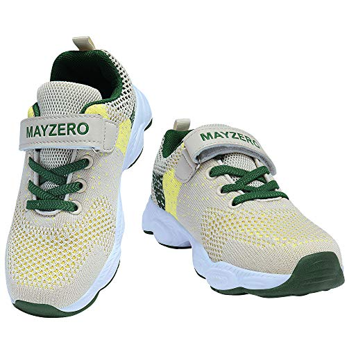 MAYZERO Kids Running Tennis Shoes Toddler Shoes Fashion Sneakers for Little Boys and Girls