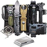 Trscind 11-in-1 Survival Gear & Equipment Survival Kit
