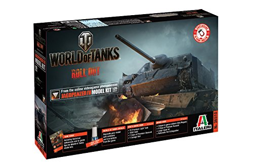 Italeri 36510 - World Of Tanks Jagdpanzer IV Model Kit Scala 1:35