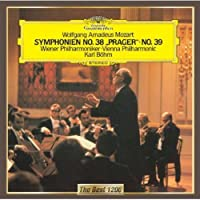 モーツァルト:交響曲第38番「プラハ」、第39番