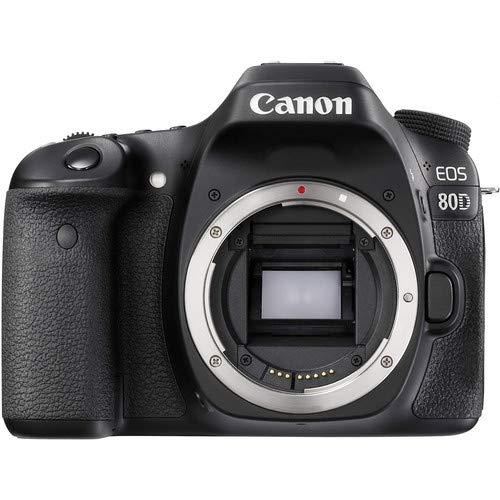 Canon EOS 80D DSLR Camera (Body Only) International Version - Black