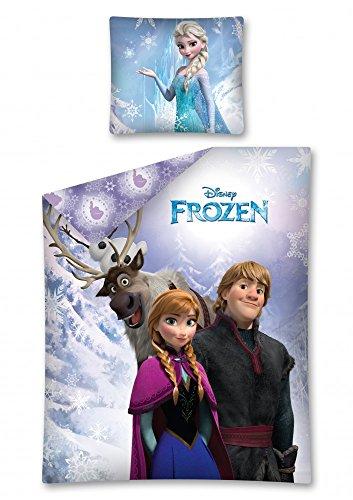Disney La Reine des neiges pour Fille Parure de lit 2 pièces 140 x 200 cm