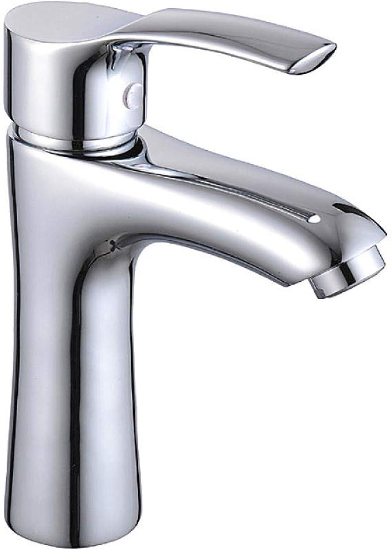 Glz Tap Faucet Basin Faucet fine Copper Single Hole Single Faucet Bathroom hot and Cold Water Basin Faucet