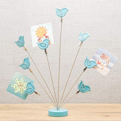 8 Branch Family Tree Picture Frame Holder Card Photo Clips Holder Desk Stand for Memo Paper product image