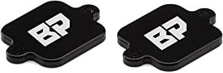 BlackPath - Fits Yamaha Air Induction Block Off Plate Kit YZF R1 R6 R6S FZ1 FZ6 FZ6R FZ8 Motorcycle AIS Smog Emissions Bypass Block Off Plates (Black) T6 Billet