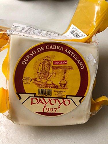 Queso Semicurado de Cabra Artesano Payoyo 600g aprox 1/4
