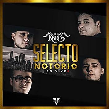 Selecto Notorio (En Vivo)