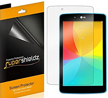 3 Pack  Supershieldz Anti Bubble Clear Screen Protector Designed for LG G Pad 7.0 and LG G Pad 7.0 LTE