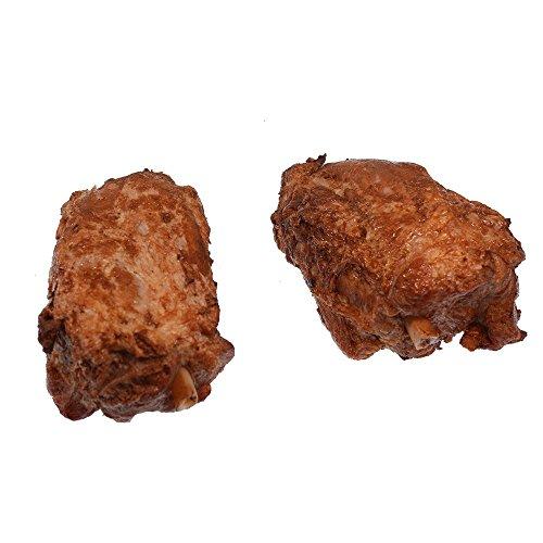 Schweinehaxe gepökelt und gebraten, vollfleischig am Speichenknochen ohne Schwarte ca. 280g