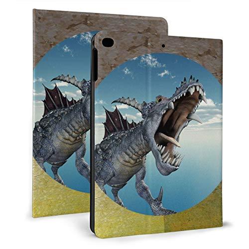Funda ultra delgada para iPad Air de 9,7 pulgadas, diseño de dragón volador en la parte delantera de iPad Air de 7,9 pulgadas, con soporte inteligente para iPad Air1/2 de 9,7 pulgadas.