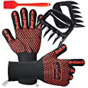 Euhome 3 in 1 BBQ Gloves Grill Accessories