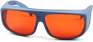 FreeMascot OD 4+ 190nm-550nm / 800nm-1100nm Wavelength Professional Laser Safety Glasses for 405nm, 450nm, 532nm, 808nm,980nm,1064nm, 1080nm, 1100nm Laser (Style 5)