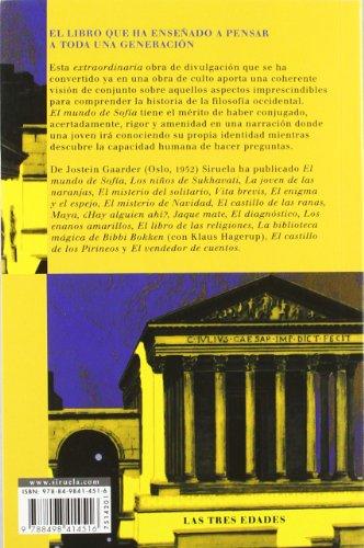 Resumen del libro de Jostein Gaarder EL MUNDO DE SOFÍA. NOVELA SOBRE LA HISTORÍA DE LA FILOSOFÍA