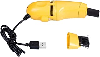Yuciya Nettoyeur de Clavier Mini USB, Kit de Nettoyage de Poussière de Brosse Dordinateur Portable Dordinateur de PC Daspi...