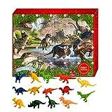 Kathrin Calendario de Adviento para niños 2020, 24 piezas, juguete de peluche, calendario de adviento de dinosaurios, regalo sorpresa para niños, nietos