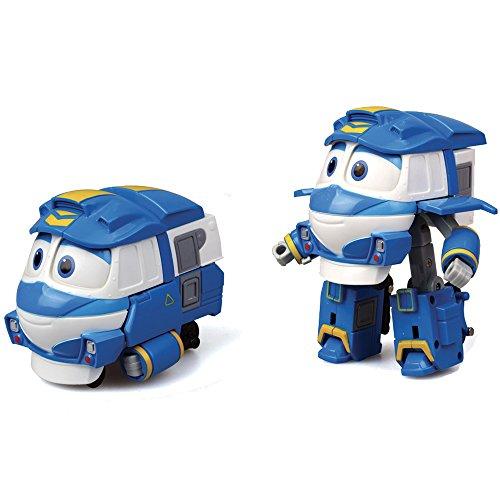 Rocco Giocattoli 80191 - Robot Trains - Personaggi Trasformabili 13 cm, Assortito, 3 anni +